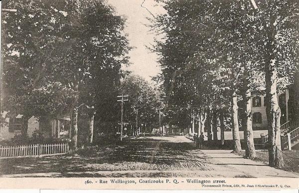 La rue Wellington 1906