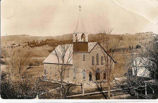 Église St-Marc construite en 1916