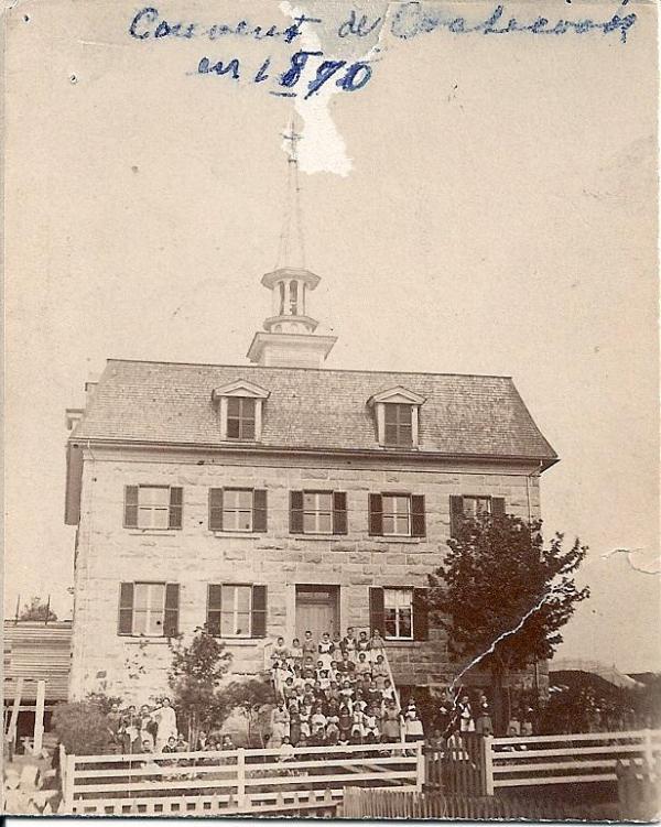 Couvent de la Présentation en 1870