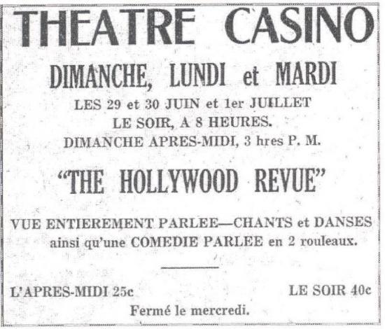 Théâtre Casino -