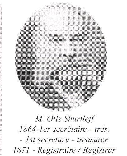 1864. 1er secrétaire-trésorier