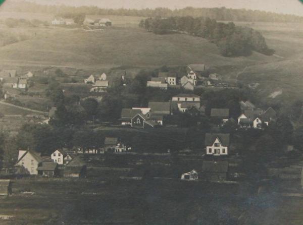Panoramic view of North Coaticook