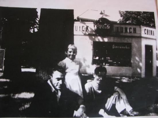 Cantine Mobile à Coaticook dans les années 1950