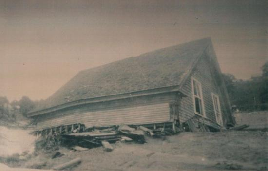 Otis family home destroyed by the flood of 15 and 16 June 1943