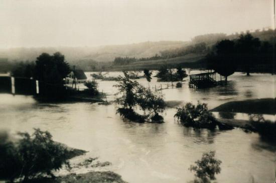 Inondation à Coaticook Nord