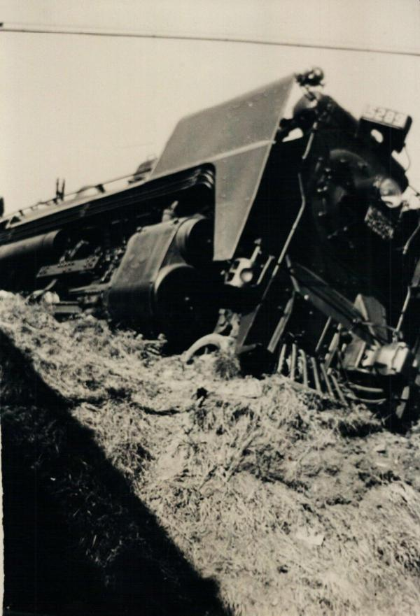 Déraillement de train en septembre 1942