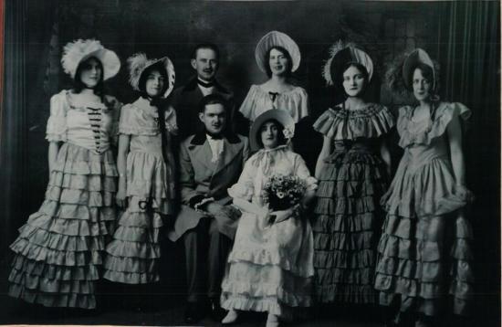 Troupe de théâtre de Coaticook qui jouait dans les années 1920