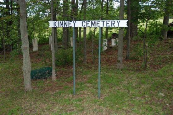Le cimetière Kinney, comme les autres cimetières protestants non-anglicans, ne s'identifie à aucun culte, respectant le pluralisme religieux de sa clientèle. C'est pourquoi les symboles religieux y sont peu fréquents. Même si l'on y recense peu de pierres tombales, le cimetière compte principalement celles des fidèles du mouvement adventiste et celles des membres de l'Église méthodiste.