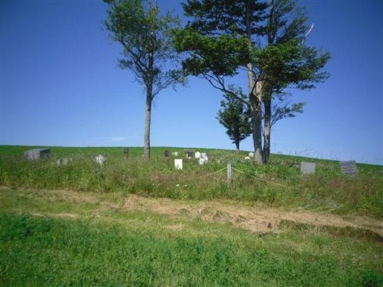 Plusieurs résidants de Corliss's Mill ont été enterrés au Bickford Corner Cemetery. Ce hameau, aujourd'hui disparu, était situé à l'ouest de l'actuelle route qui relie Baldwin's Mills à Barnston, à proximité de la rivière Niger