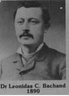 Leonidas Bachand fut maire de Coaticook en 1890