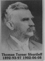 Thomas Turner Shurtleff fut maire de Coaticook en 1892-1893 / 1897 / 1902 / 1906 / 1908