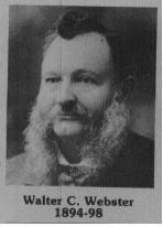 Walter C. Webster fut maire de Coaticook en 1894 / 1898