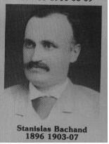 Stanislas Bachand fut maire de Coaticook en 1896 / 1903 / 1907