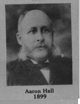 Aaron Hall fut maire de Coaticook en 1899