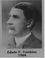 Edwin F. Tomkins fut maire de Coaticook en 1904