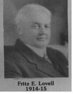 Fritz E. Lovell fut maire de Coaticook 914-1915