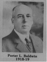 Porter L. Badwin fut maire de Coaticook en 1918-1919