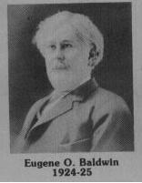 Eugene Orson Baldwin fut maire de Coaticook en 1924-1925