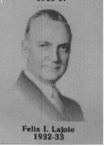 Félix I Lajoie fut maire de Coatricook en 1932-1933