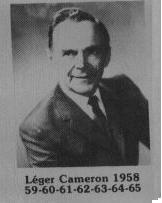 Léger Cameron  fut maire de Coaticook en 1958-1965