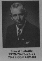 Ernest Lafaille fut maire de Coaticook en 1973-1983