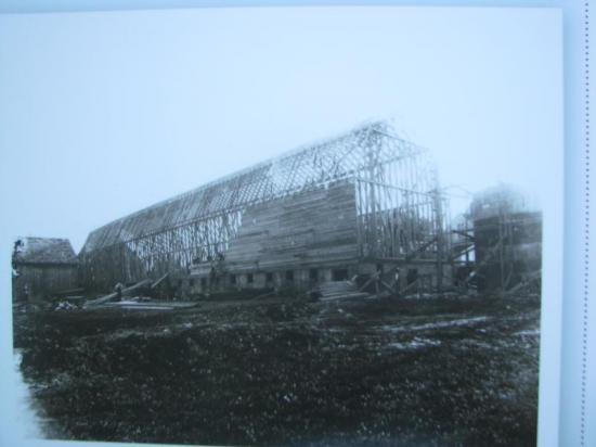 Construction de la Grange du Plateau