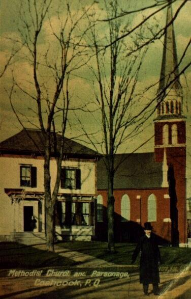 Post card of the Methodist Church