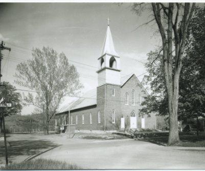 Église St-Marc situé à Coaticook Nord
