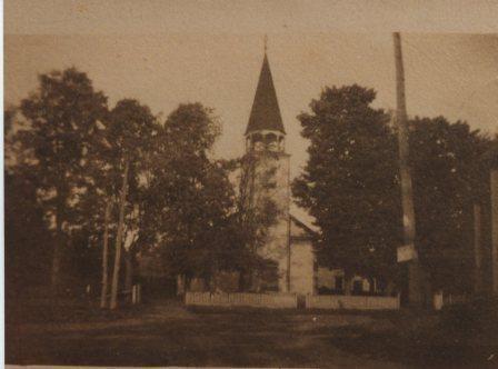église Méthodiste de Compton situé sur la route Louis-S-St-Laurent, au centre du village de Compton