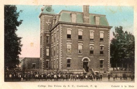 collège du Sacré-Coeur de Coaticook était situé sur la rue St-Jean Baptiste