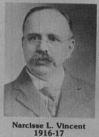 Rueee nommée en l'honneur de la famille Vincent, une des plus anciennes familles francophone de Coaticook. Louis-Narcisse fut maire de 1916 et 1917. Il fut aussi président de la Société St-Jean-Baptiste.
