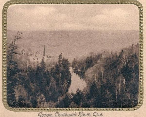 Postcard from the Coaticook River
